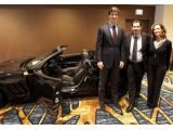 Super Bowl XLVI MVP presented with 2012 Corvette Grand Sport Convertible