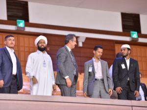 Ak Partili Ünal, Yemen ve Hindistandan Gelen Öğretim Üyelerine Meclisi Gezdirdi