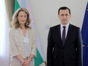 Emrullah İşler, Sofyada Adalet Bakanı Zlatanova ile Görüştü