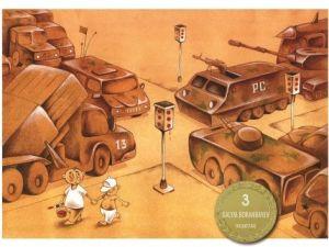 Barış ve Çocuk Konulu Uluslararası Karikatür Yarışması Sonuçlandı