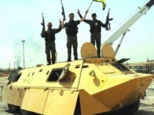 PKK Kamyonetten Çıkma Tank Üretti