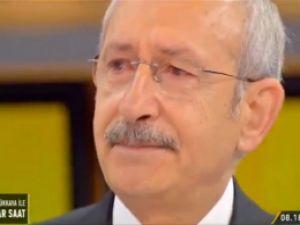 Kemal Kılıçdaroğlu İlk Kez Canlı Yayında Ağladı