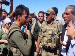 """Komutandan Gülten Kışanak'a: """"Benim Devletimse Çıkın Dışarı"""""""