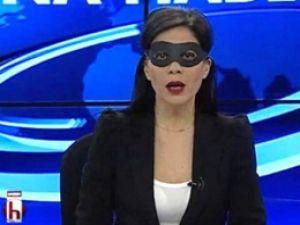 Halk TV Spikerinden İlginç 17 Aralık Protestosu