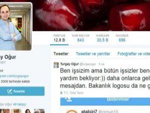 Tweet Atan Turgay Oğur İşinden Oldu