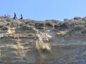 Keçiler Mahsur Kaldı, AFAD Devreye Girdi