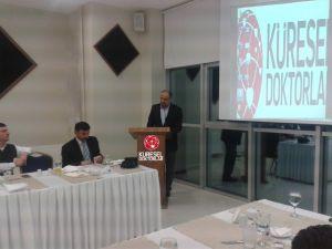 Sinop Sağlık Mensupları Derneği Tıp Bayramını Kutladı