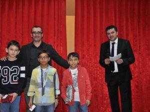 Bartında Herkes Onu Okuyor Yarışmasının Ödül Töreni Yapıldı