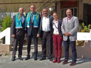 Lüleburgaz Akademiyi Ziyaret Eden Lutfi Arıboğana TBF Seçimlerinde Başarı Dileği