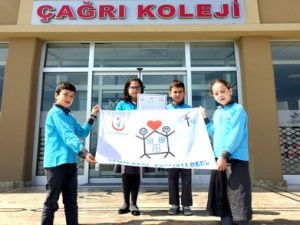 Çağrı Koleji, Temiz Okul-Sağlıklı Okul Sembolü Beyaz Bayrak Aldı