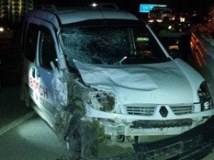 Tireboluda Trafik Kazası: 1i Ağır, 6 Yaralı