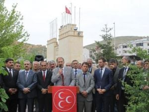 MHP İl Başkanı Burçtan Ak Partiye Cevap: Fitne Katilden Beterdir