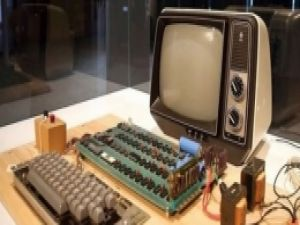 İşte Apple'ın eski bilgisayarı Servet değerinde