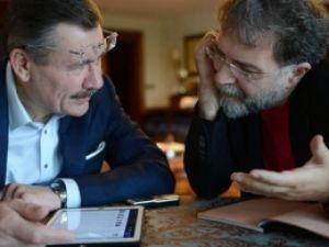 Twitter'da Ahmet Hakan ve Gökçek restleşmesi