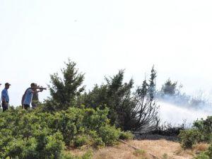 Bingölde Orman Yangınında 5 Hektar Alan Zarar Gördü