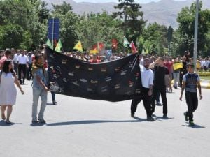 Suruçtaki Terör Saldırısı Muşta Protesto Edildi