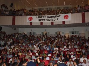 MHP Lideri Bahçeli Tokatta