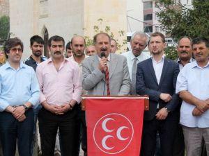 MHP İl Başkanı Burçtan Hükümete Yakın Medyaya Tepki
