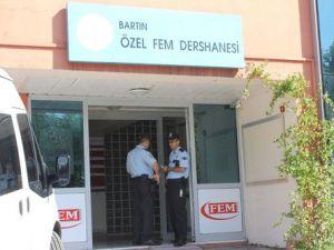 Bartın Polisi Öğrenciler Derste İken Kolej ve Dershane Bastı