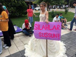 Erbaalı STKlar Düğünlerin Acıya Dönmemesi İçin Eylem Yaptı