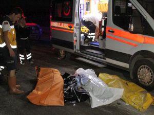 Erzincanda Feci Kaza: 5 Ölü, 2 Ağır Yaralı