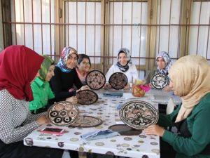 Erzincanda Sepet, Tablo ve Bakır İşlemeciliği Kursları Açıldı