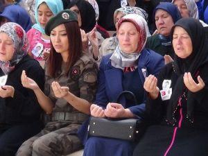 Şehit Polis Akbaş, Aksarayda Son Yolculuğuna Uğurlandı