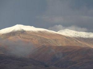 Erzincanda Mevsimin İlk Karı Yağdı