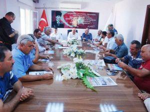 Karaisalı Belediye Başkanı Saadettin Aslan, Muhtarları Dinledi