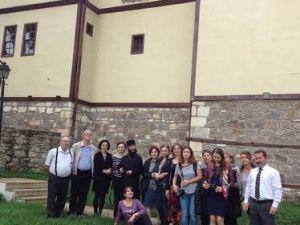 Tiflisli Ortadoks Heyeti, Ünyeyi Ziyaret Etti