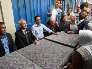 Kılıçdaroğlu, Uşakın Köylerini Ziyaret Etti