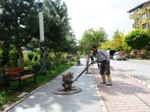 Ispartada Yürüyüş Yolu ve Çocuk Oyun Alanları Kauçukla Kaplanacak