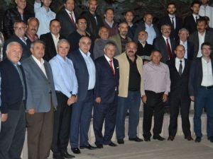 Amasyalı Ülkücüler MHP İçin Güç Birliği Yaptı