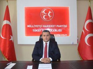 MHP Tokat İl Başkanı Demirkol: Yaşananların Sorumlusu Erdoğan ve AKPdir