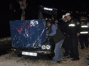 Amasyada Otomobil Irmağa Uçtu: 1 Kayıp, 1 Yaralı