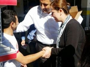 MHPli Bayan Adaylardan Sanayi Çıkarması