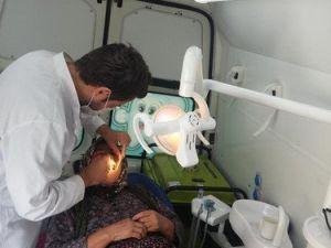 Karaman Toplum Sağlığı Merkezi Ağız ve Diş Sağlığı İçin Köylere Gidiyor