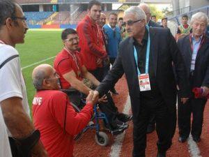 Karabükspordan Engelli Bilek Güreşi Türk Milli Takım Sporcularına Altın
