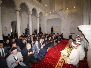 İshakpaşa Sarayı Mescidi 200 Yıl Sonra İbadete Açıldı