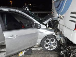 Amasyada Zincirleme Trafik Kazası: 7 Yaralı