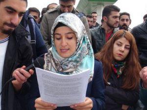 Muş Alparslan Üniversitesi Öğrencilerinden Formasyon Eylemi