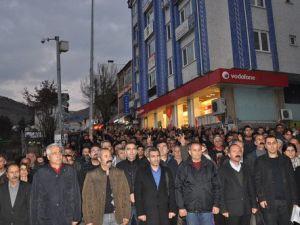 Dersim Barosu, Elçiye Yapılan Saldırıyı Yürüyüşle Protesto Etti