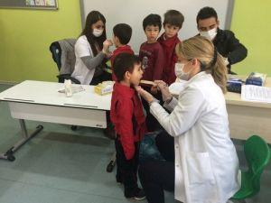 Özel Düzce Fatih İlkokulu Öğrencilerine Diş Taraması