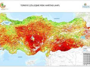 Türkiyenin Çölleşme Risk Haritası Oluşturuldu