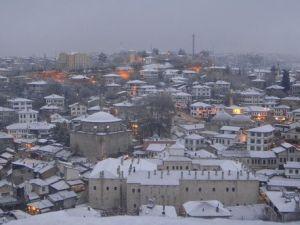 Safranbolu Kar Altında Bir Başka Güzel