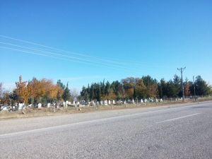 Kâhta Belediyesi Mezarlıklarda Çevre Düzenleme Çalışmaları Başlattı