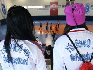 Üniversiteler Arası 2. Lig Basketbol Müsabakaları Başladı