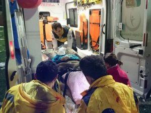 Camili Köyündeki Hasta İçin Hava Ambulansı Havalandı