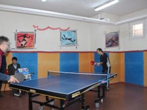 Veliler Masa Tenisi Turnuvasında