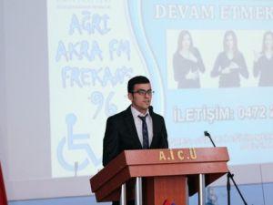 Ağrı İbrahim Çeçen Üniversitesinde Engelli Farkındalığı Konferansı Düzenlendi